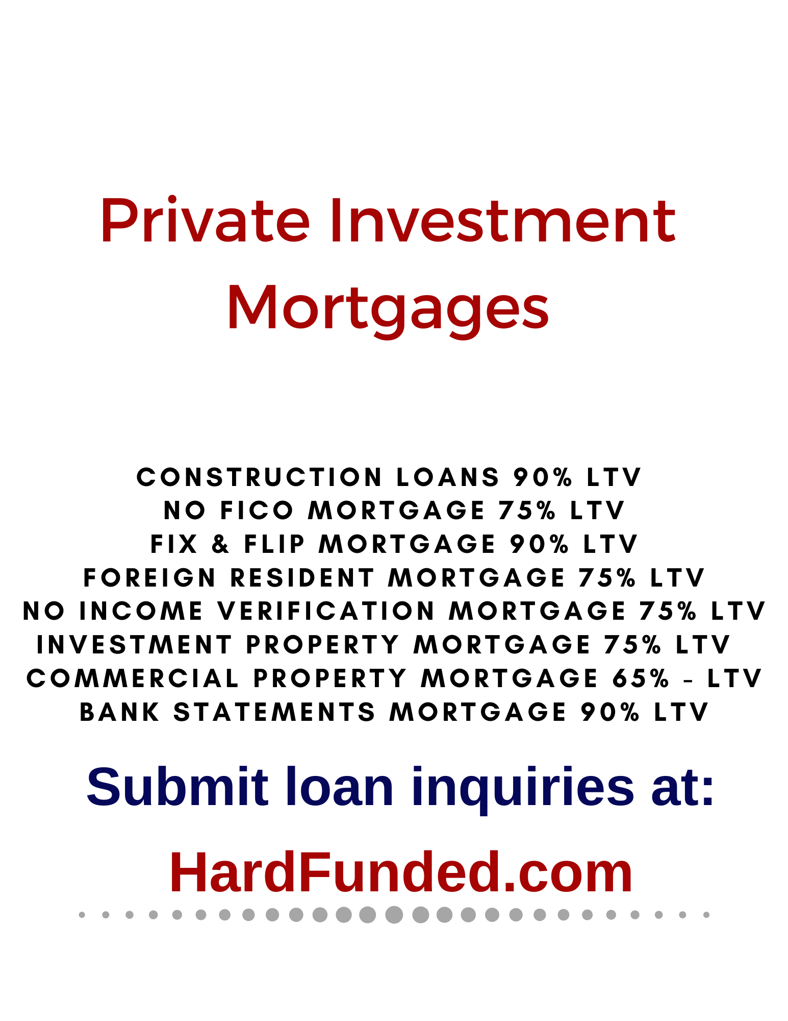 HardFunded.com Real Estate Investment Marketplace Now Connects Borrowers and Lenders in All Fifty States