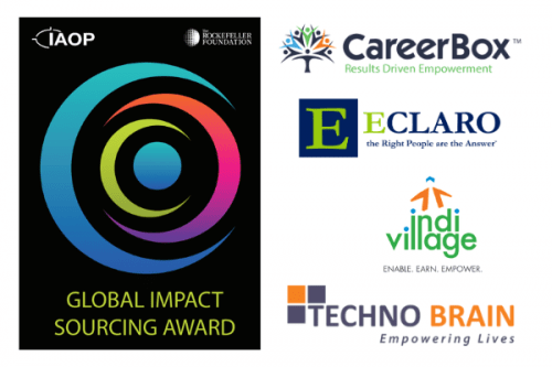 IAOP and The Rockefeller Foundation Announce Winners of 2021 Global Impact Sourcing Award