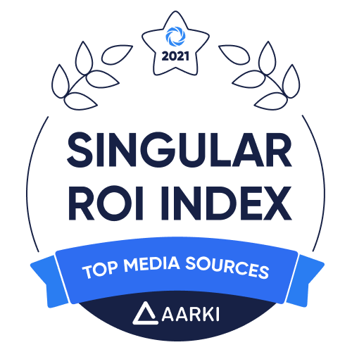 Aarki Ranks Again in the Singular ROI Index 2021