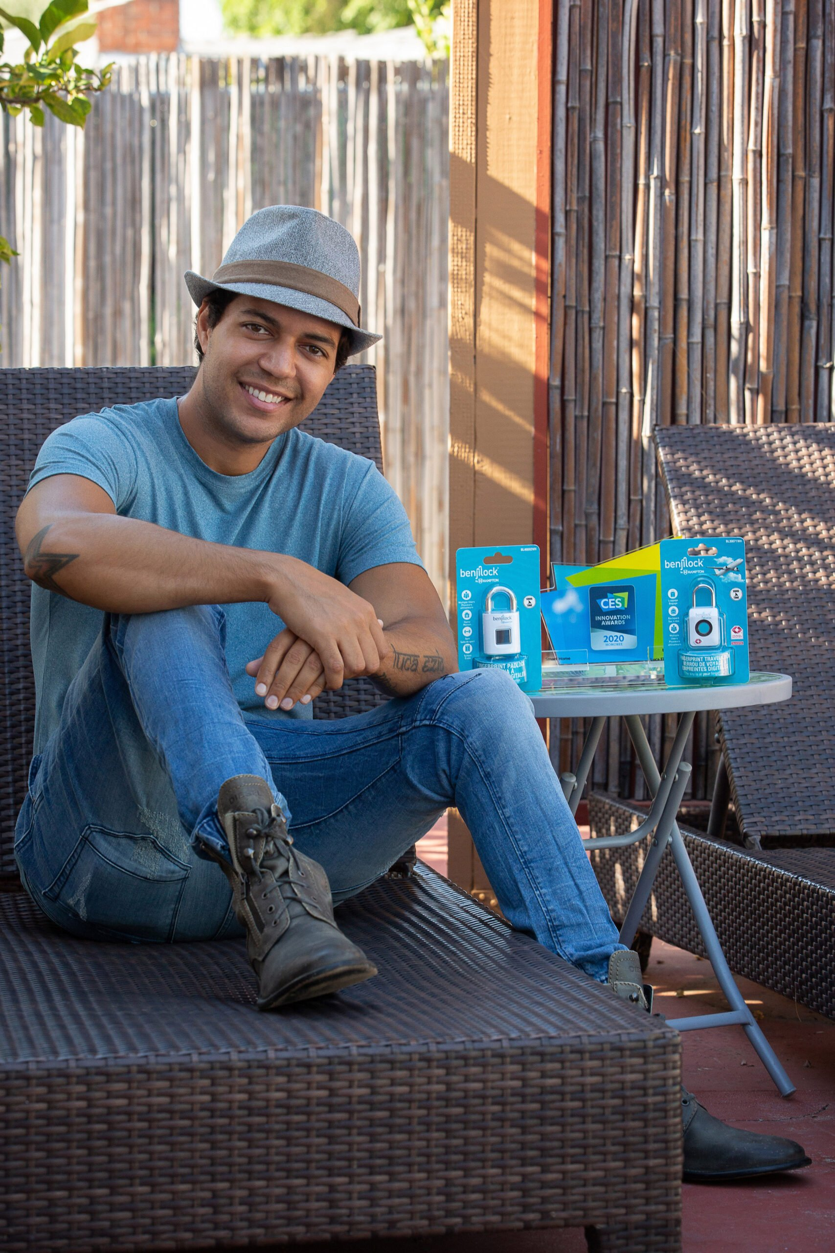 Changing the Perception of Padlocks: Robbie Cabral, Founder & CEO of BenjiLock, Joins Tech's Biggest Thinkers at CES 2021