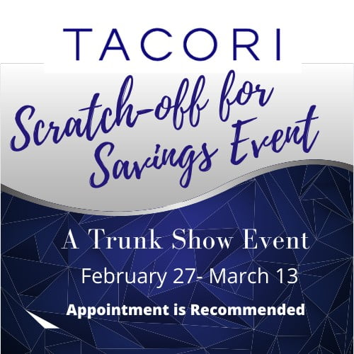 Tacori Scratch-off for Savings Event at Adlers Jewelers