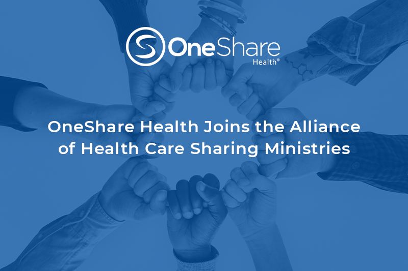 OneShare Health Joins the Alliance of Health Care Sharing Ministries