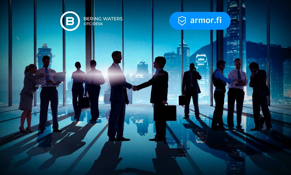 Bering Waters OTC Selected by Armor as Official Investors Desk