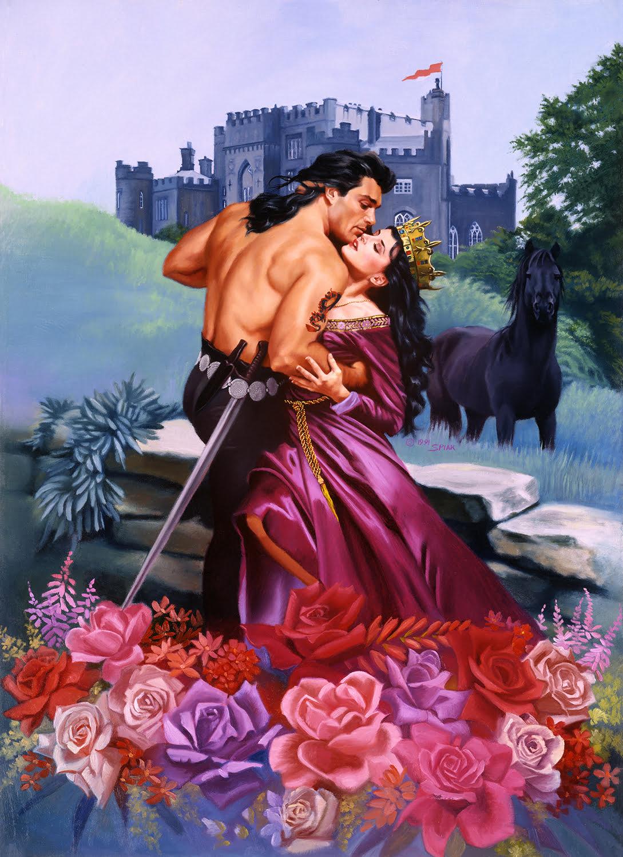 Original Romance Novel Paintings Featuring Fabio Hit the Market