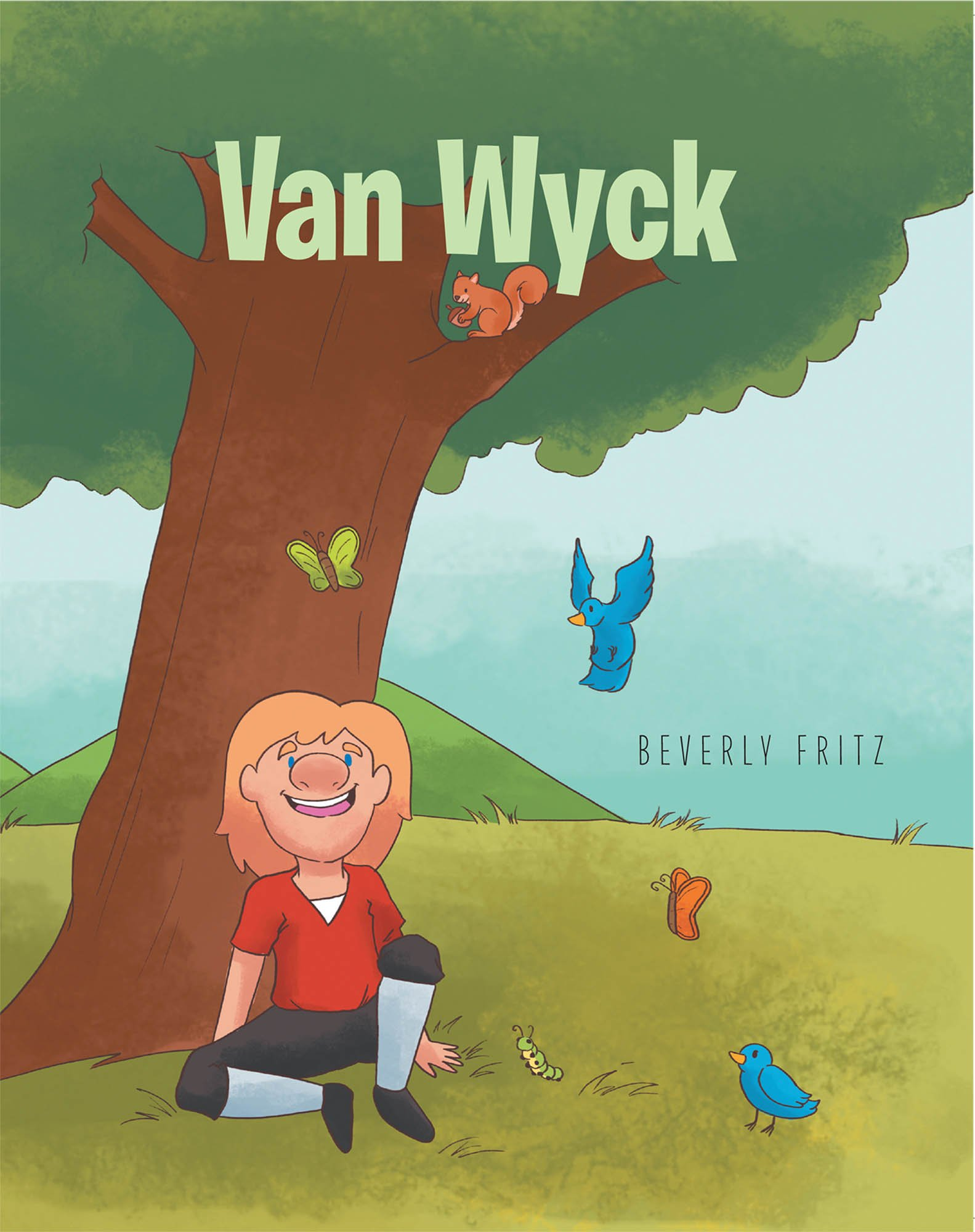 Beverly Fritz's New Book 'Van Wyck' is a Beautiful Story of Acceptance