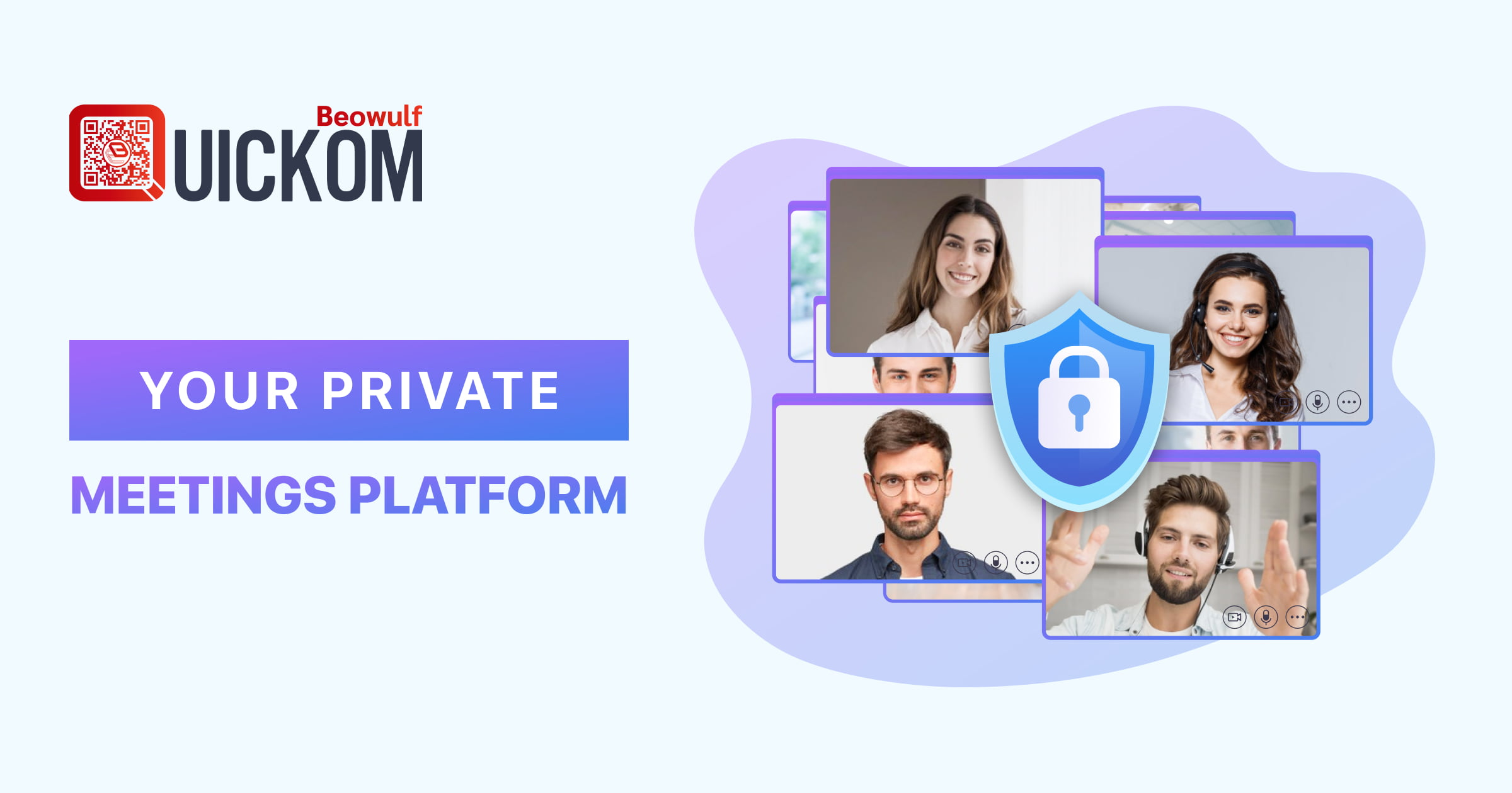 QUICKOM Reinvents Online Meetings With Unparalleled End-to-End Encryption to Protect Confidential Communications