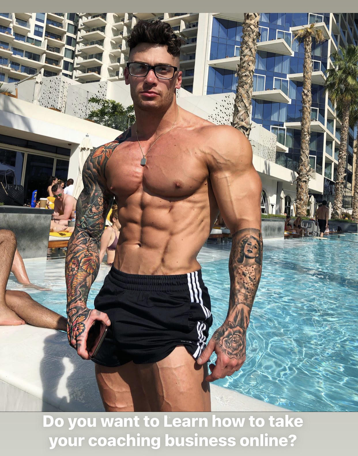 Lewis Harrison – a Fitness Model & Entrepreneur Generating $30K per Week Through Social Media – Shares His Secrets to Success