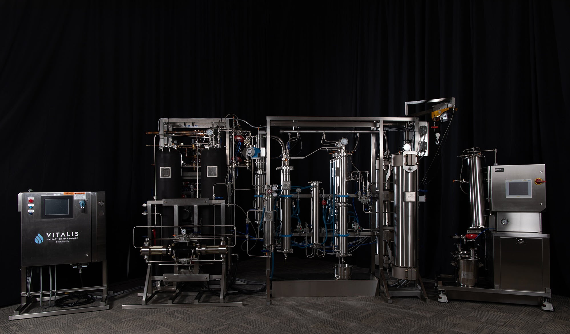 Vitalis Extraction Technology Adds Cosolvent Injection System to Its Premium Fleet of Extraction Solutions