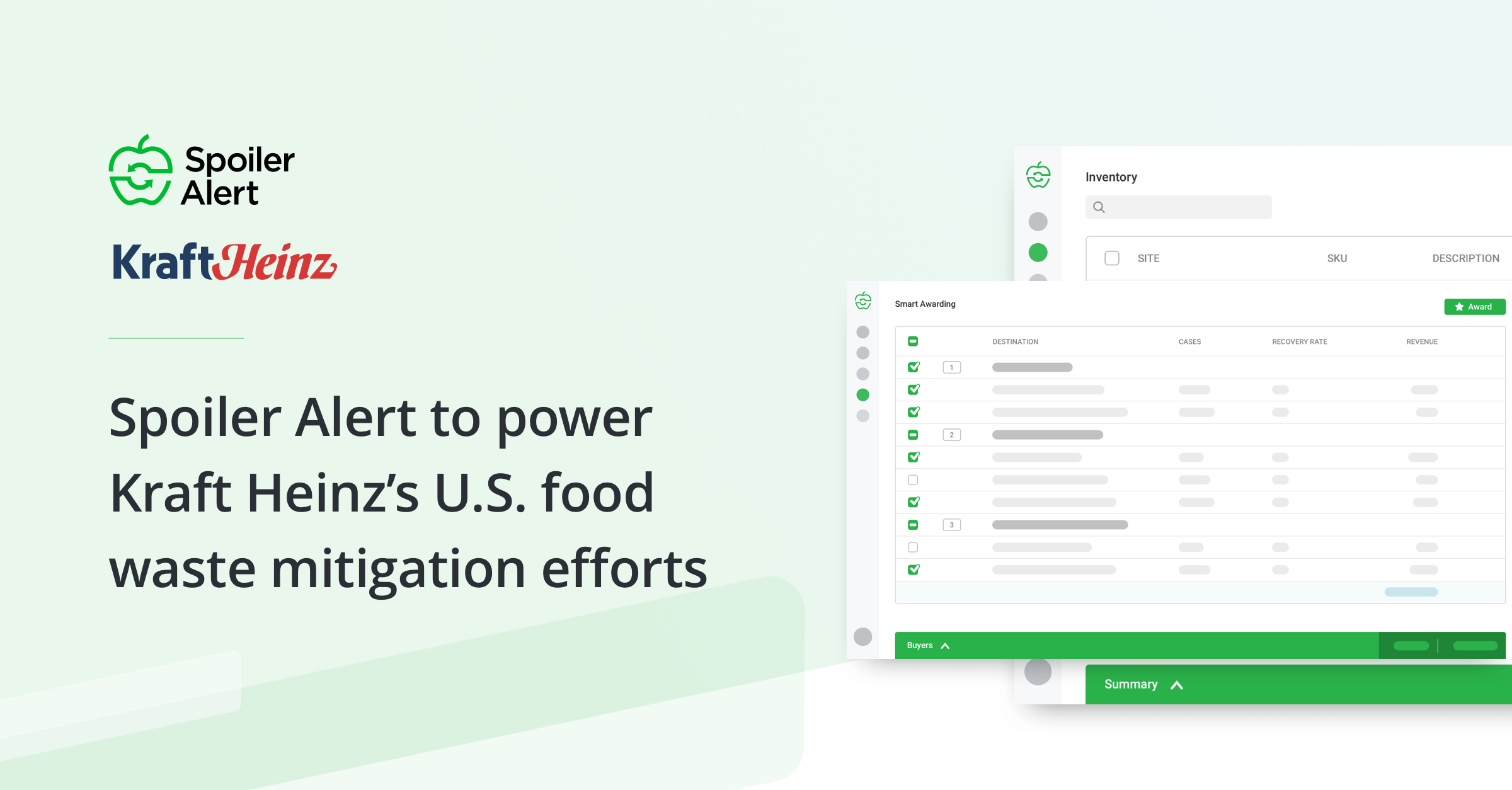 Spoiler Alert to Power Kraft Heinz's U.S. Food Waste Mitigation Efforts