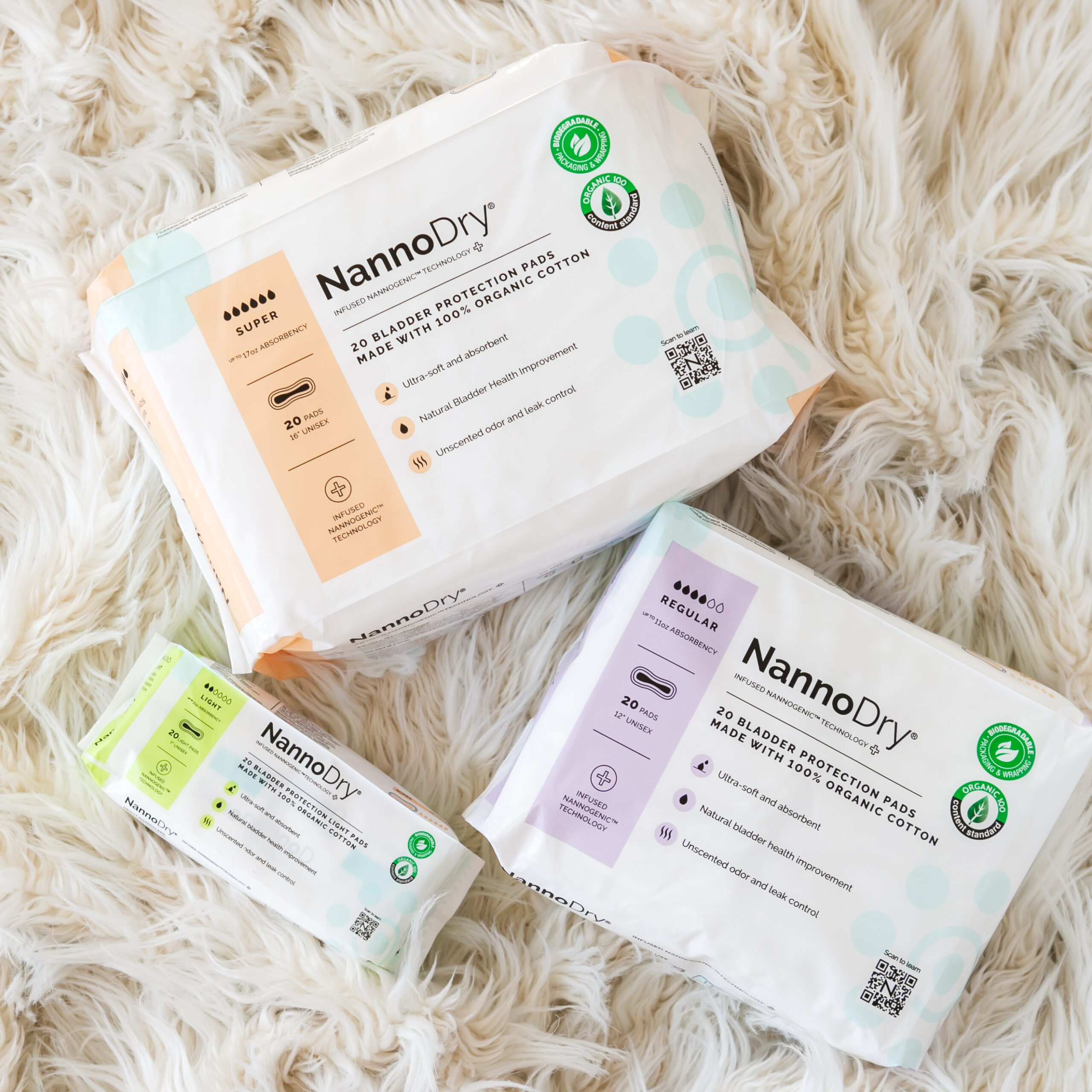 The Company Behind NannoPad® Sold in CVS Pharmacies Launches a New Incontinence Protection Product NannoDry®