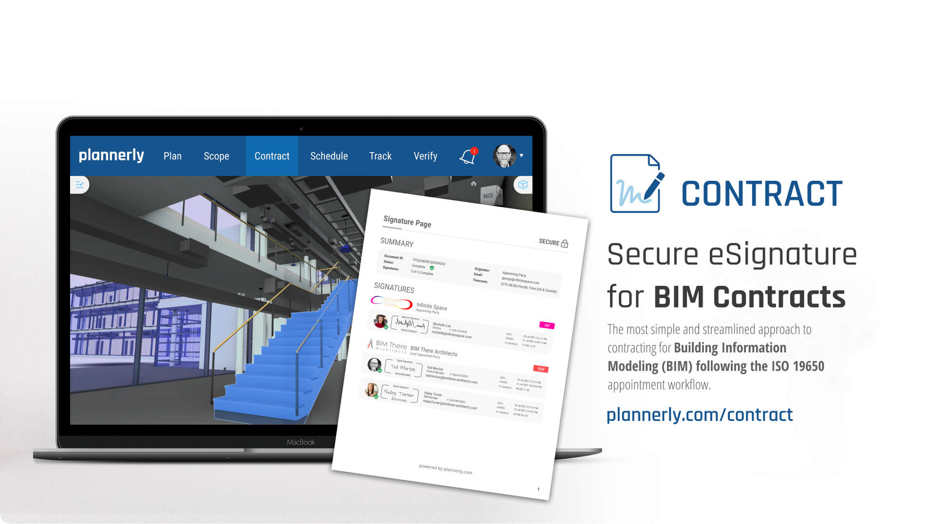 New BIM Contracting Software Released by Plannerly (The BIM Management Platform)