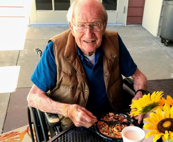 Senior Living Resident Celebrates 102nd Birthday