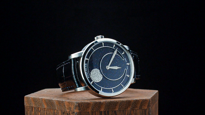 Agelocer Announces Kickstarter Launch of Moonphase Automatic Watch & Stardust Dial