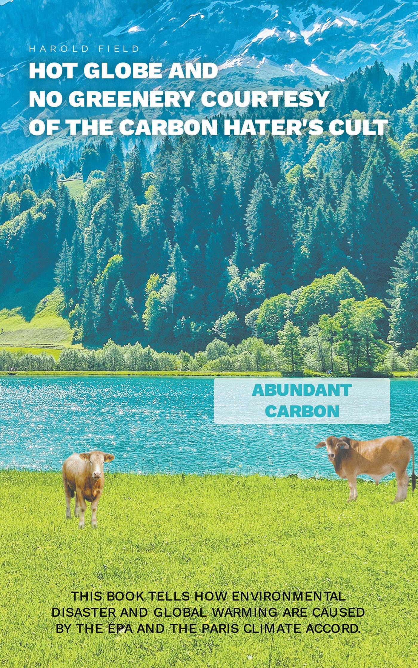Harold Field's New Book 'Hot Globe and No Greenery Courtesy of Carbon Hater's Cult' is a Closer Perspective of the EPA's Role in the Environment's Adverse Condition