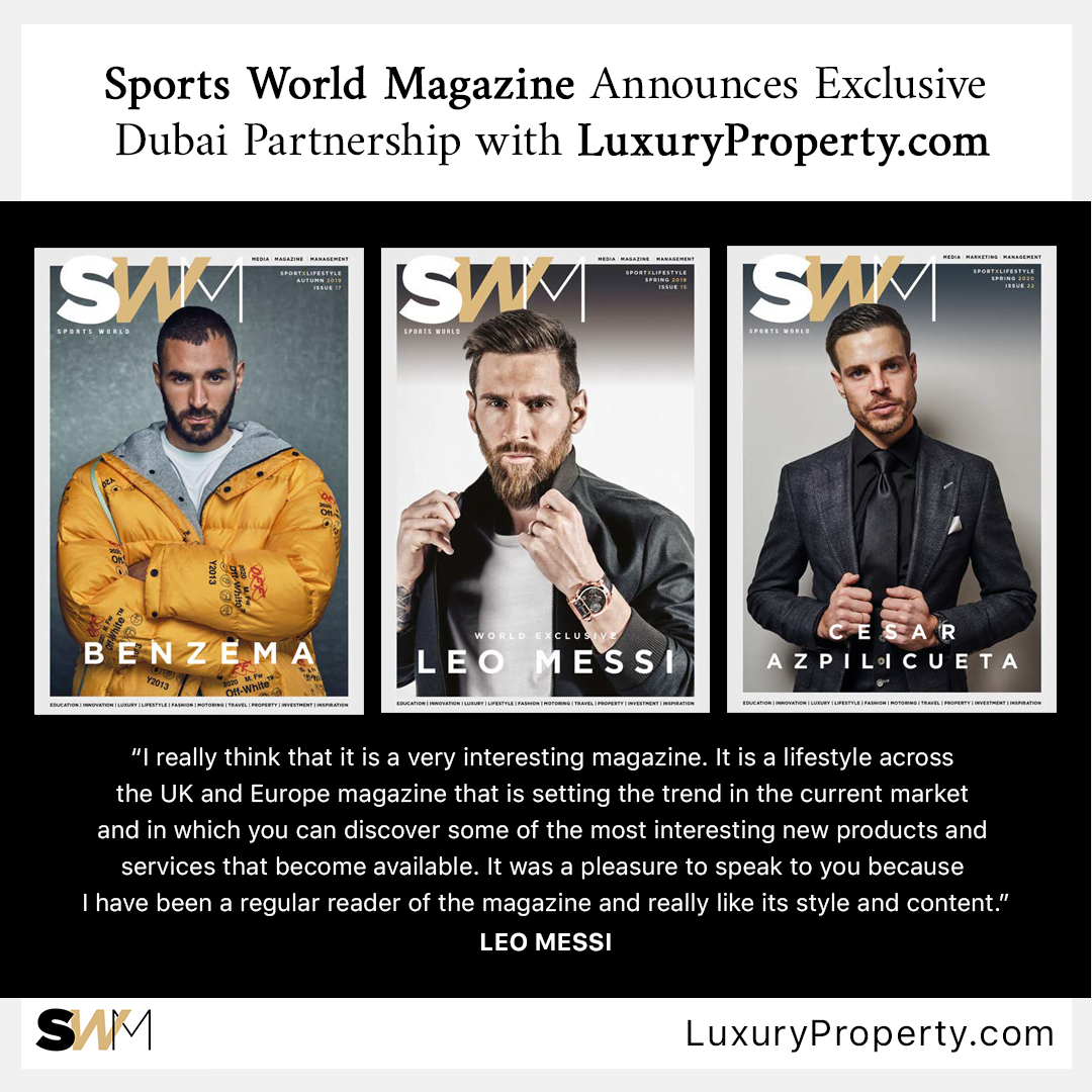 LuxuryProperty.com and Sports World Magazine Form Exclusive Marketing Partnership