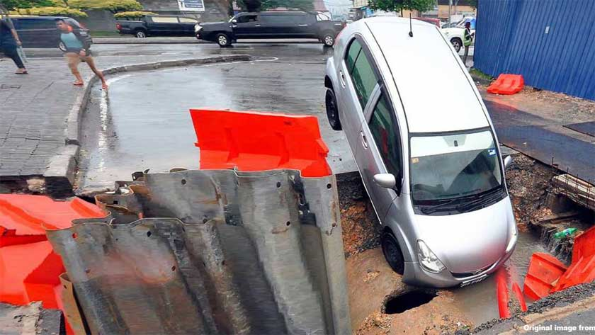 How Do I Sue for Damage to My Car from a Pothole?