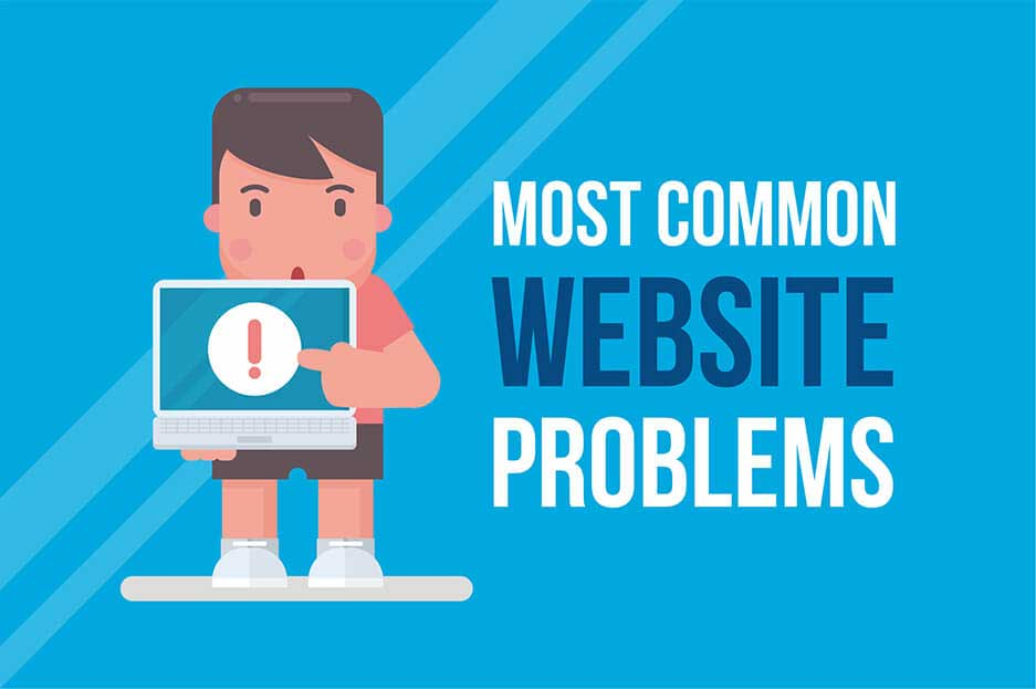 Common Website Problems You Need to Solve
