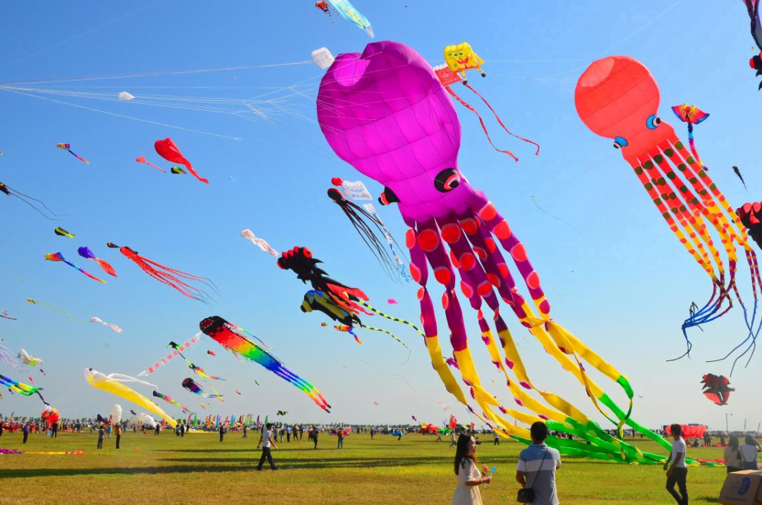Weifang Soars to New Heights on Kites Wings