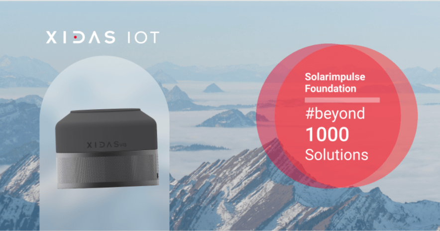 Xidas Proud to Join Solar Impulses #1000 Solutions Portfolio for a Greener Planet