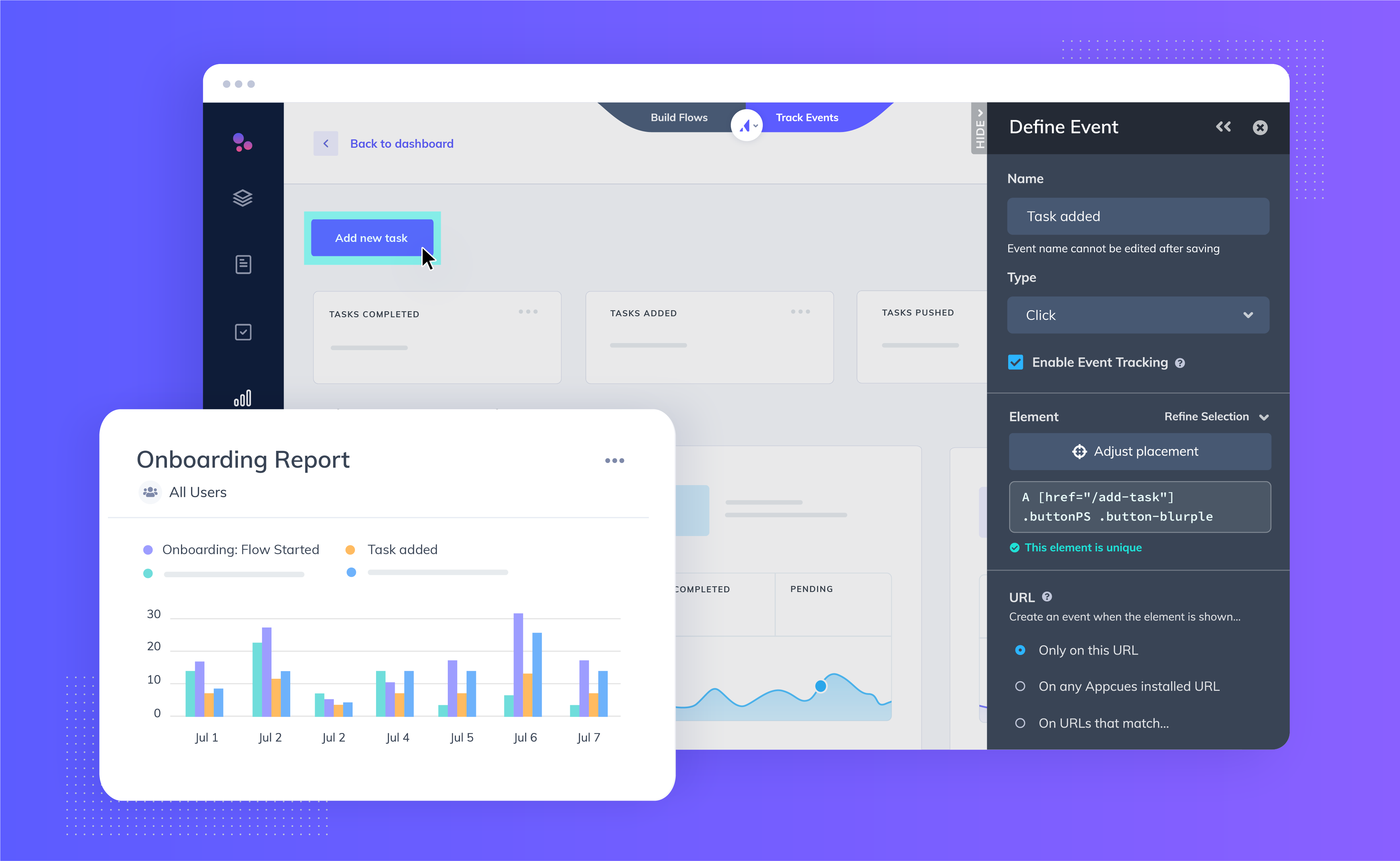 Appcues Introduces No-Code Tracking and Analytics for Product-Led Businesses