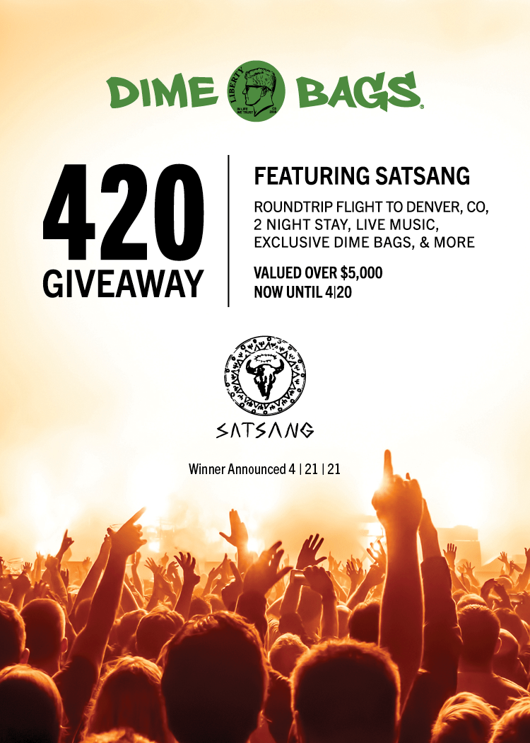 Dime Bags to Give Away $5,000 Trip and Concert Package for 420