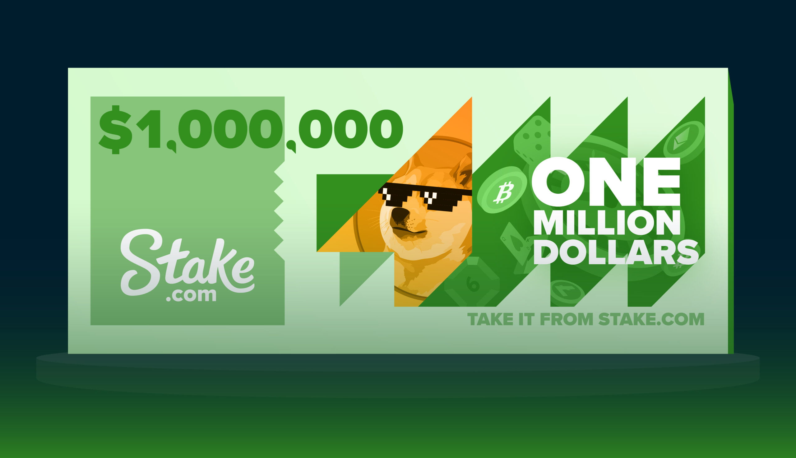 Stake.com Launches Million Dollar Crypto Race