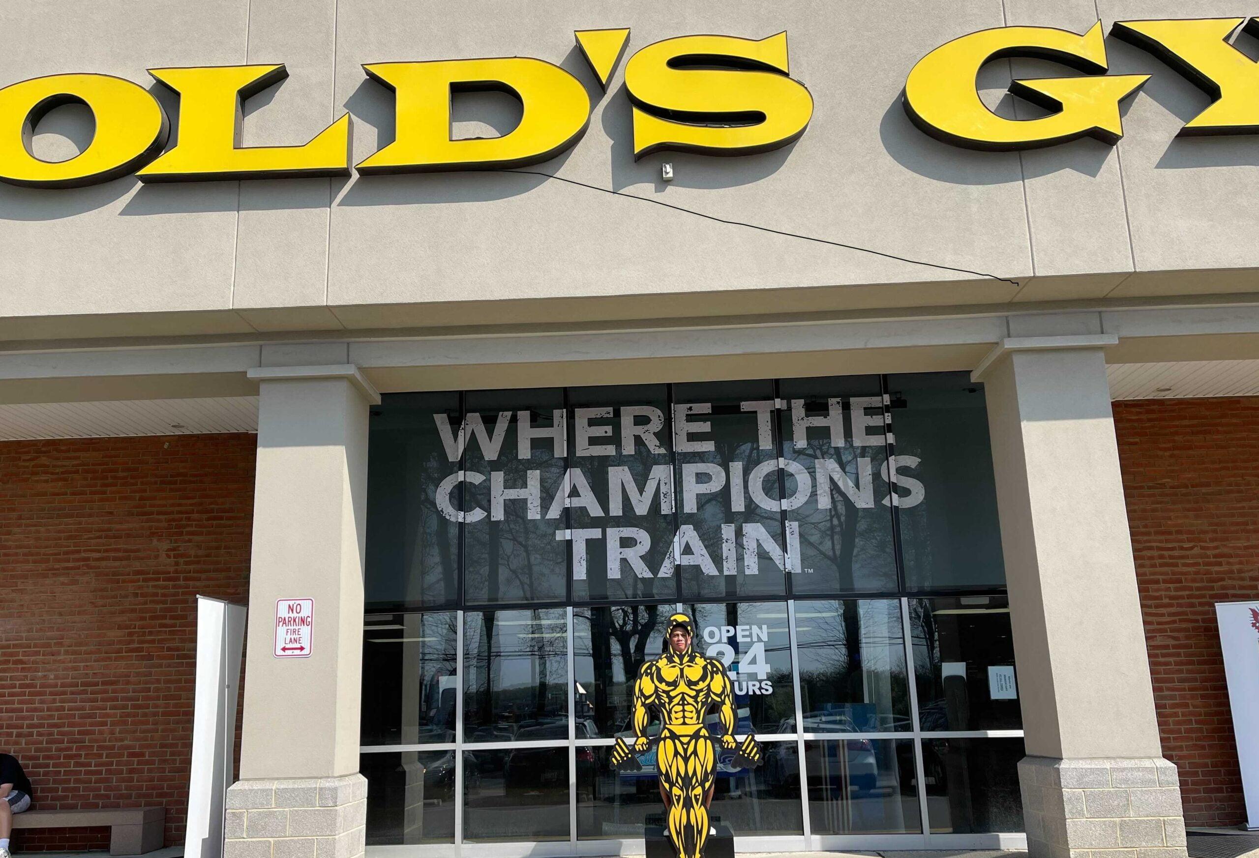 Gold's Gym Crofton Debuts Mr. America Reality Show