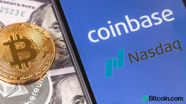 Coinbase Closes at Over $100bn