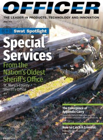 Law Enforcement Spotlight on OSCR360 after feature in the April 2021 Edition of Officer Magazine