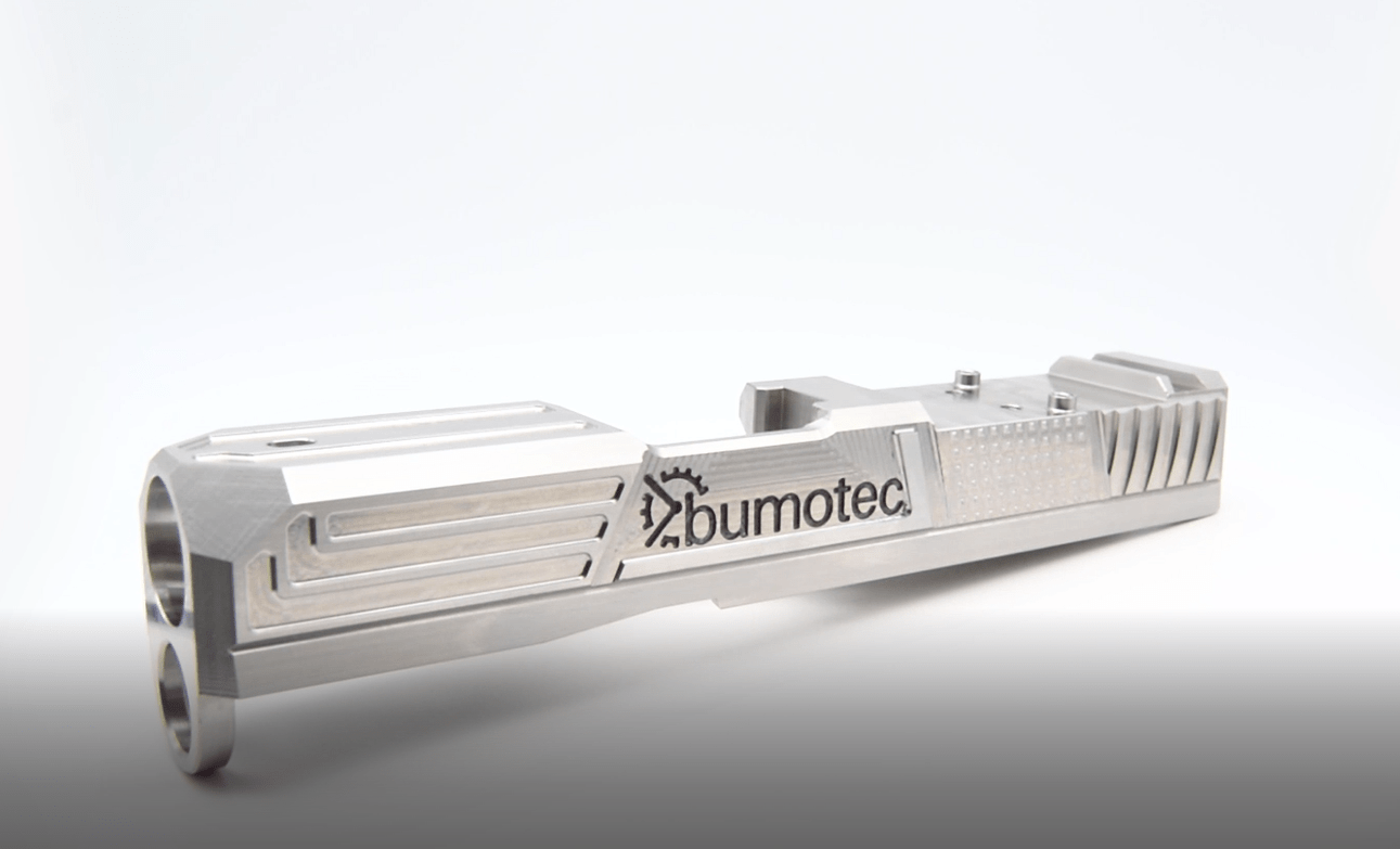 The Bumotec s191H From Starrag Hits the Target by Producing Complete Firearm Slides for the Sports Gun Industry in One Machine Cycle