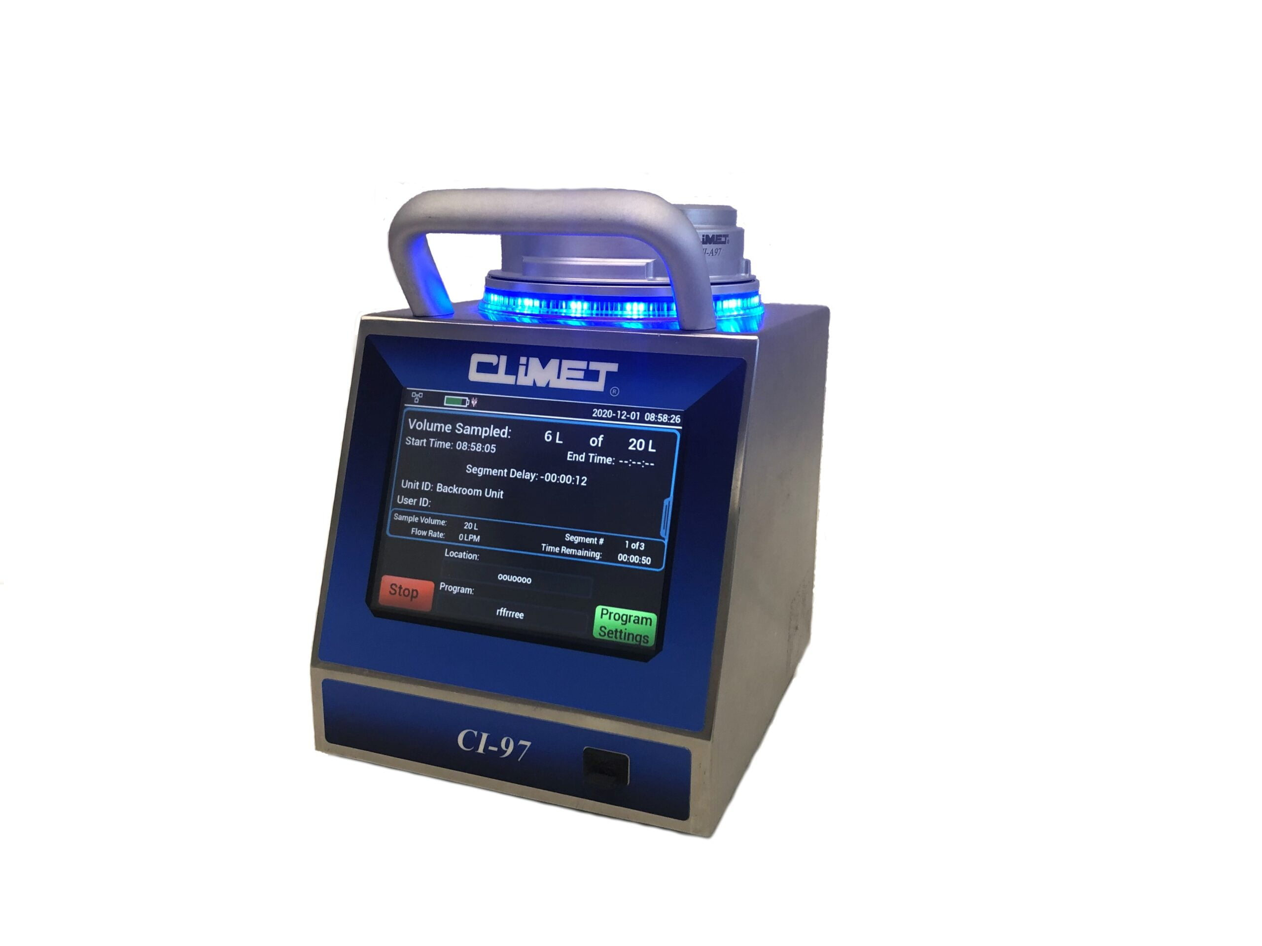 Climet Announces Introduction of the CI-97 Microbial Air Sampler With Data Integrity and New Advanced Features