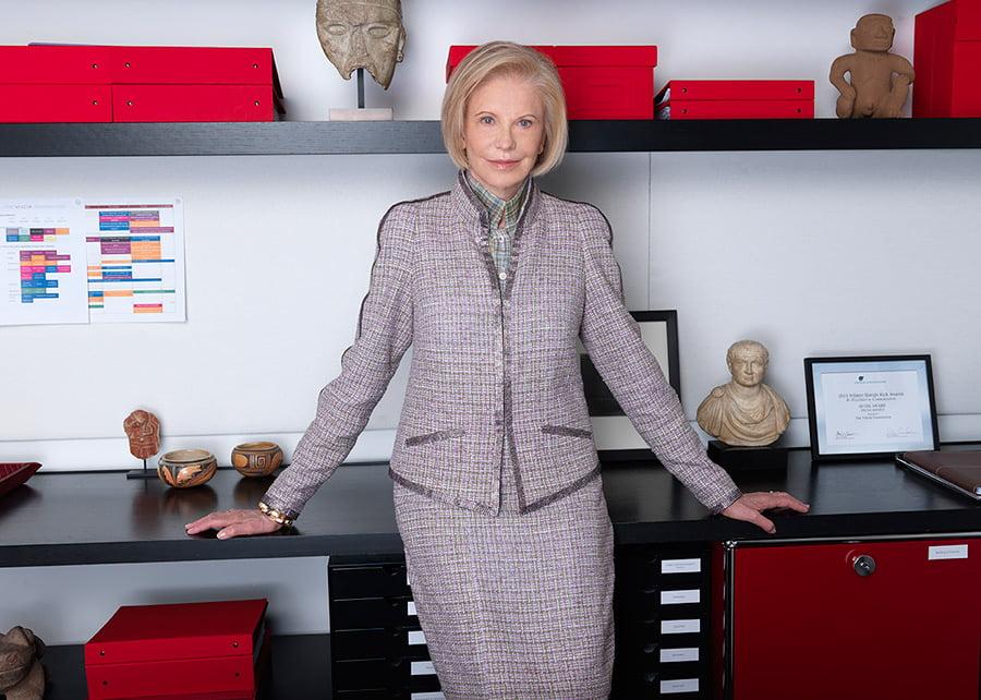 Marica Vilcek, Philanthropist and Art Historian, Honored by NYU Institute of Fine Arts