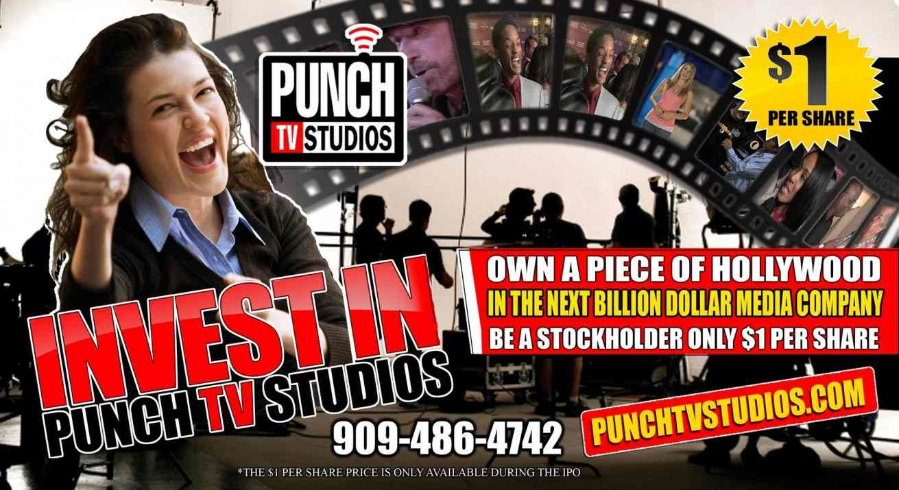 Tv Studios Adding 'punch' To Celebrity Careers