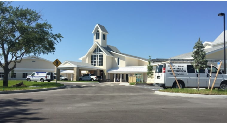 Christ Church Vero Beach Complex Nears Completion – First Church Services Scheduled for Mid-June