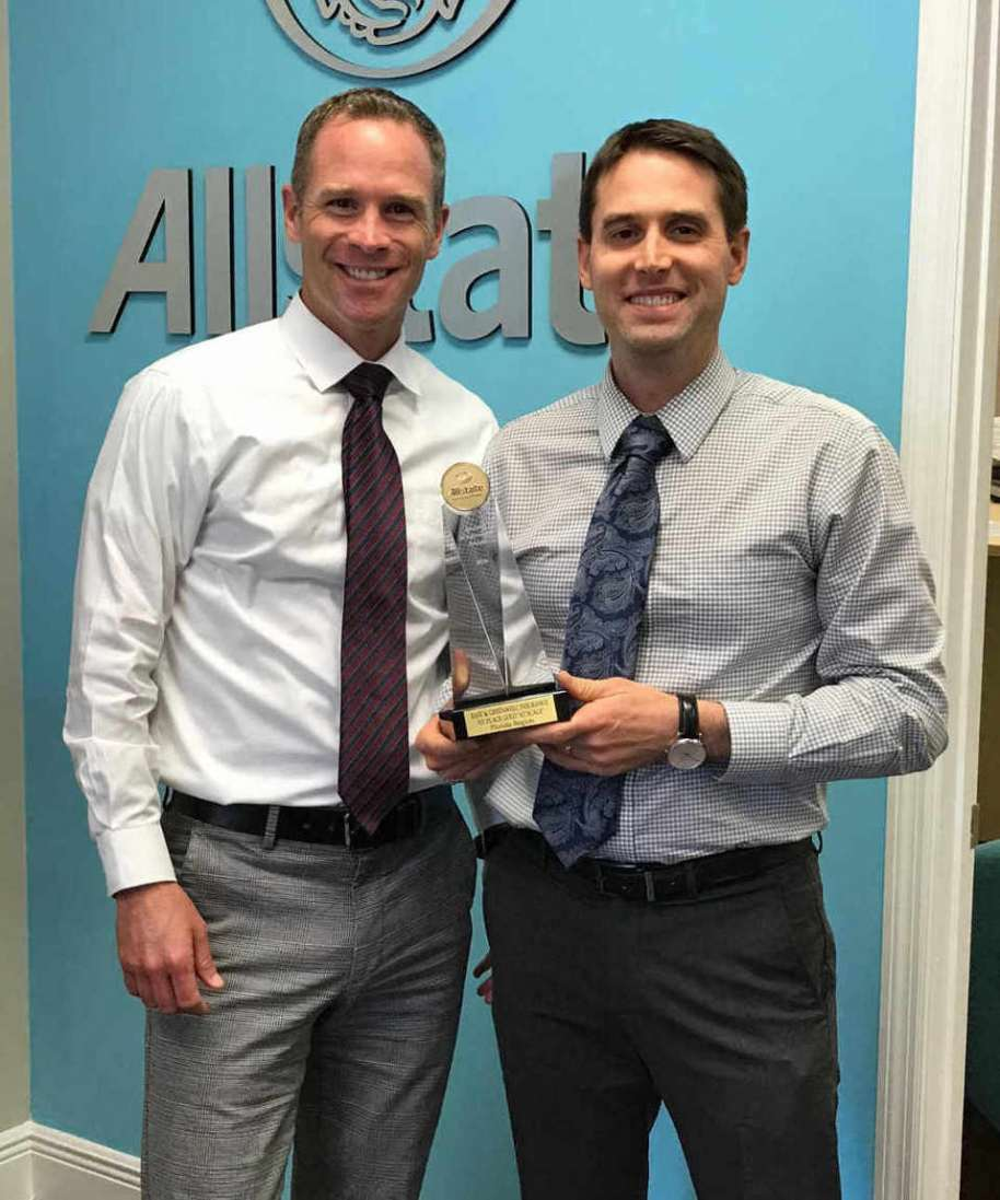 East and Greenwell Insurance named top Allstate agency in the state of Florida