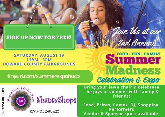 Divinity Affairs is hosting its 2nd Annual Summer Madness Celebration & Expo, Saturday, August 19th