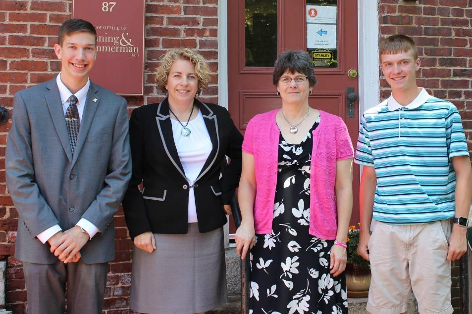 New Hampshire law firm awards two college scholarships