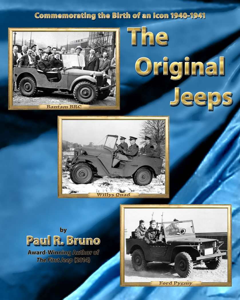 Paul Bruno's The Original Jeeps Now Available In Celebration of Jeep's 80th Anniversary