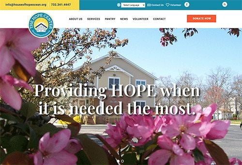 The HOPE Center launches new website