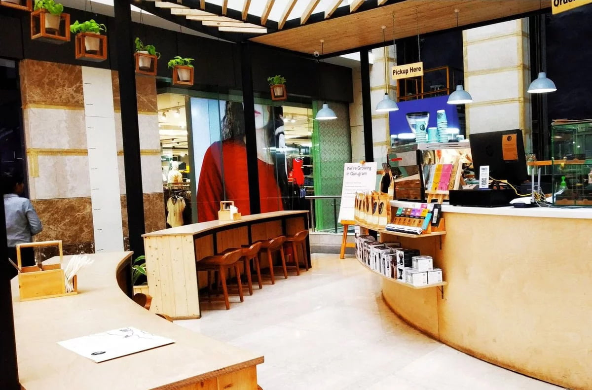 Blue Tokai Coffee Roasters Delhi