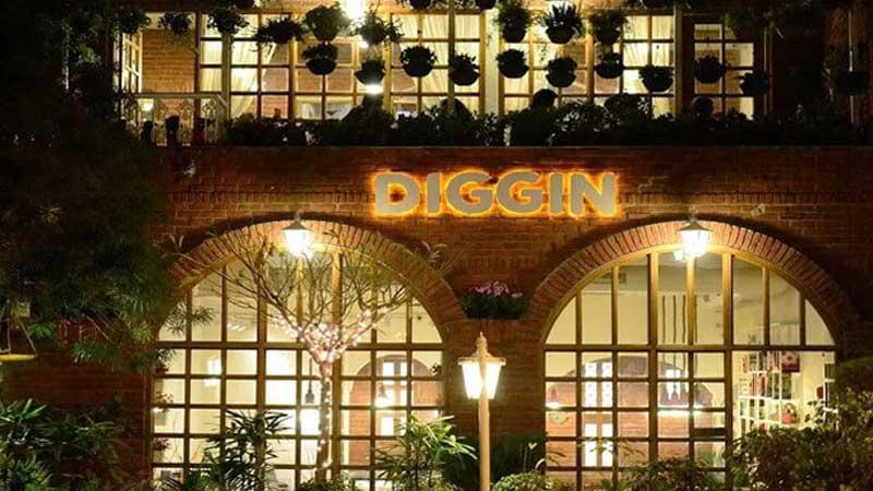 Diggin Cafe Vasant Kunj Delhi
