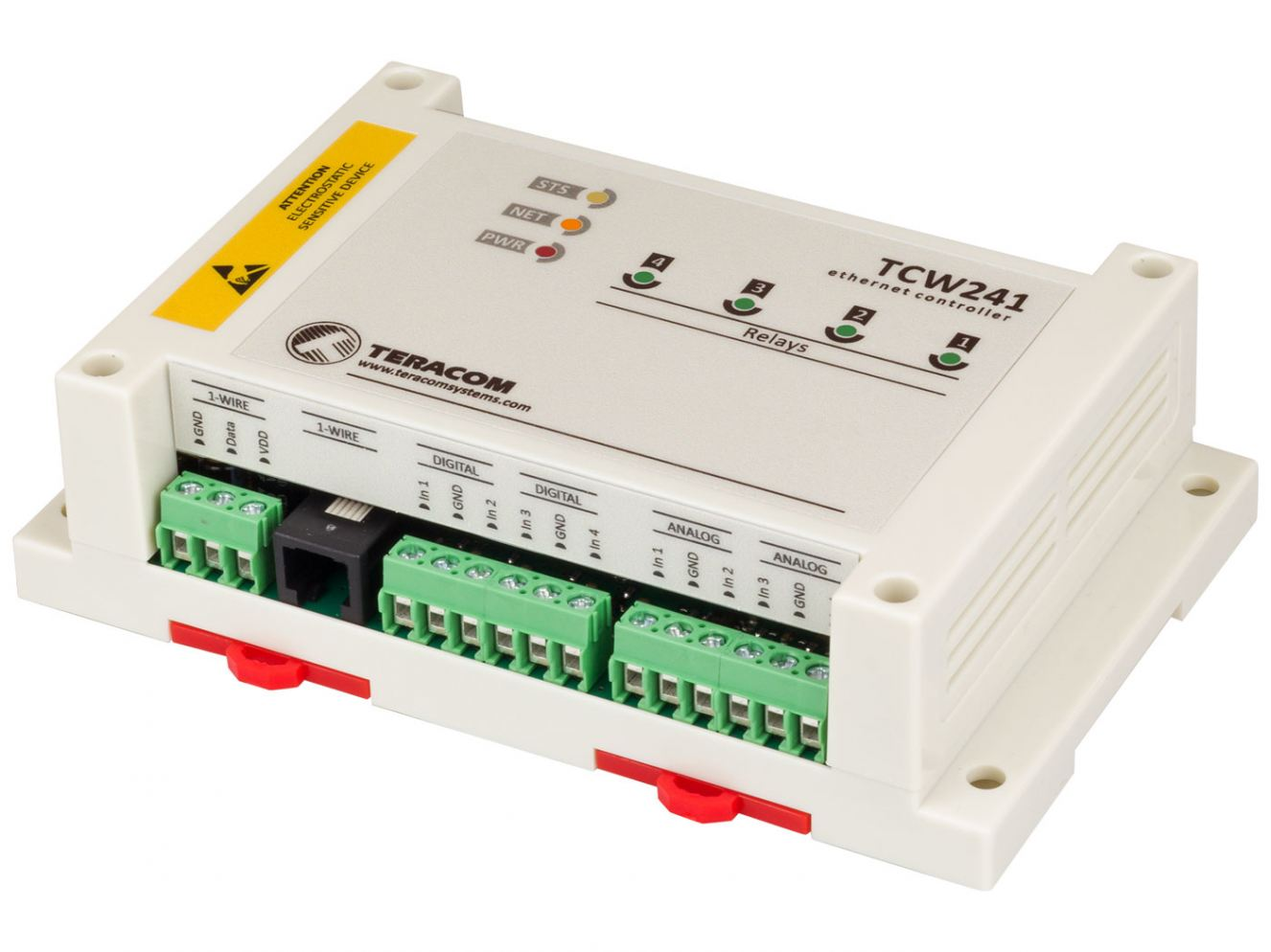 Teracom Launches TCW241 Ethernet IO Module