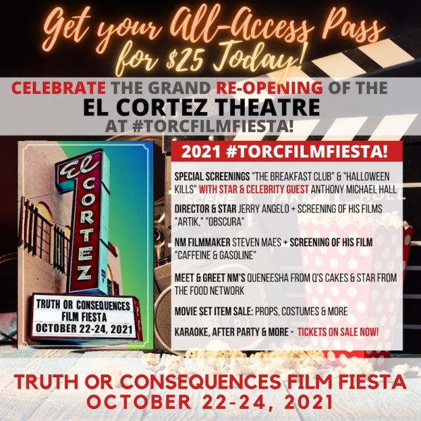 5th Annual 'T or C Film Fiesta' Dates Announced to be held at El Cortez Theatre