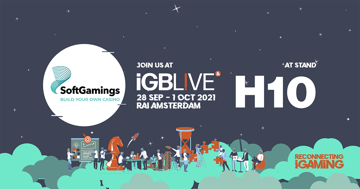 SoftGamings to Attend iGB Live! in Amsterdam