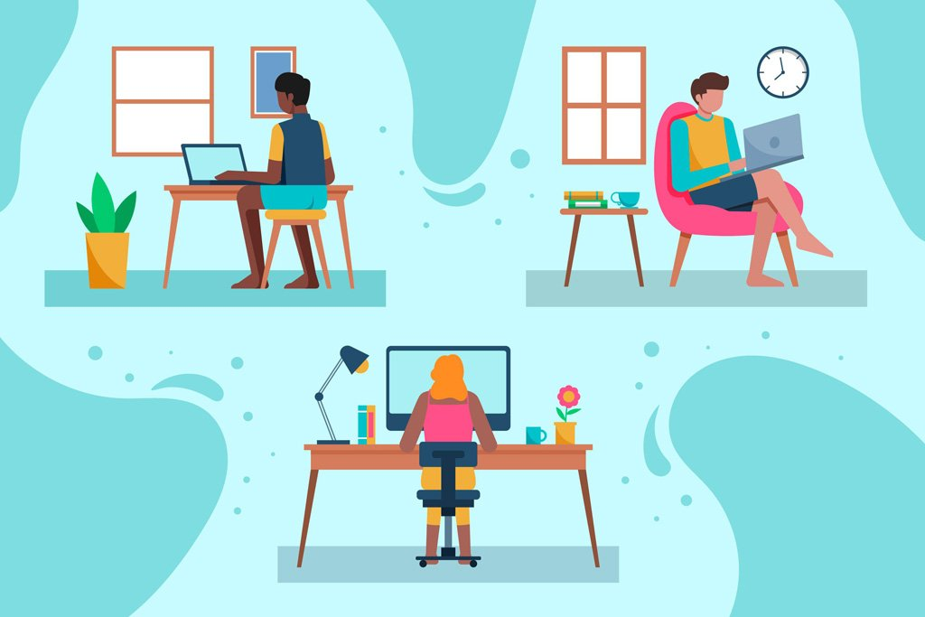 What is the Benefit of Allowing Employees to Work where they seem Fit?